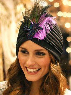 Turbantes para invitadas de boda El Turbante es el complemento que