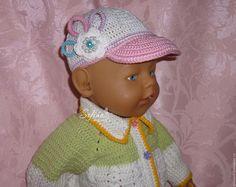Купить Мастер - класс по вязанию кепки для кукол Беби Бон - комбинированный, кепка, кепка крючком