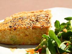 poivre, soja, oeuf, épice, crabe, beurre demi-sel, courgette, farine, eau, levure chimique, maïzena, sel