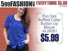 """599fashion.com - Everything $5.99 or Less. Check out this weeks """"5 Favorite Picks-PLUS SIZE"""". http://www.599fashion.com/Picks-of-the-Week-PLUS-SIZE_c_513.html"""
