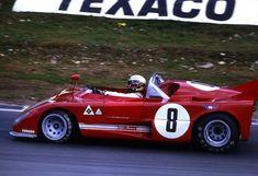 Peter Revson / Rolf Stommelen - Alfa Romeo T33/TT/3 - AutoDelta SpA - BOAC 1000 Kilometres World Championship Sports Car Race - Brands Hatch 1000 Kilometres - 1972 World Championship for Makes, round 4