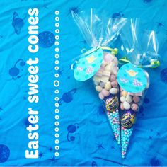 A personal favourite from my Etsy shop https://www.etsy.com/uk/listing/506122359/5x-easter-sweet-cones