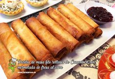 Cocina – Recetas y Consejos No Cook Appetizers, Empanadas, Hot Dog Buns, Pasta Recipes, Catering, Food And Drink, Yummy Food, Lunch, Snacks