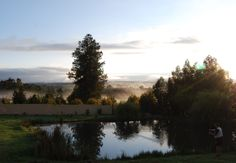 Dullstroom sunrise, Eastern Transvaal South Africa, Sunrise, River, Celestial, Spaces, Country, Outdoor, Outdoors, Rural Area
