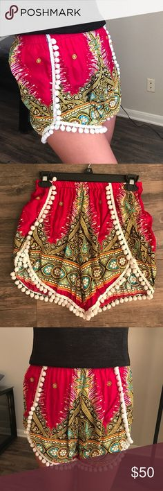 Thai Shorts I brought these back from Phuket, Thailand. You can definitely dress these up with some killer heels or be casual with some converse. Either way, you will look fabulous! Shorts