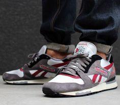 official photos 993f4 994a6 Reebok GL 6000 OG – Med Grey   Steel – Havana Red – Black Sneakers Mode