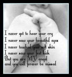 For my precious angel baby, Frances John Luhrman, 3/2/12