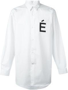 Études Studio É print shirt - Green Reliable For Sale AP89kr4u