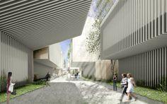 Propuesta de aulario  para la universidad USJ de Zaragoza.