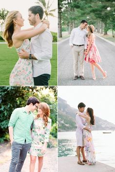 What to Wear for Your Engagement Shoot Beautiful Outfit Trends You'll Love! Engagement Photo Outfits, Engagement Shoots, Engagement Ideas, Wedding Photoshoot, Wedding Shoot, Wedding Ideas, Prenup Outfit, Couple Photography Poses, Couple Portraits
