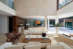 Guarujá Residence by Patricia Bergantin Arquitetura Out of a zillion pins... I LOVE THIS HOUSE