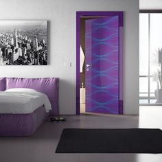 modern and futuristic interior door ideas