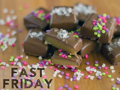 Fast Friday: Soft Caramels | High Tea with Dragons