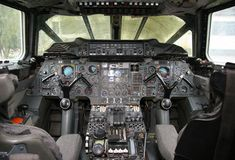 Concorde Flight Deck