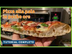 La PIZZA ALLA PALA, in poche ore [TUTORIAL COMPLETO - 80% IDRATAZIONE] 🍕🍕👀😋 - YouTube Cuocere Pizza, Baked Potato, Oreo, Tacos, Meat, Chicken, Baking, Tutorial, Ethnic Recipes