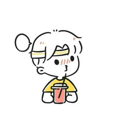 Cute Easy Drawings, Cute Little Drawings, Cute Cartoon Drawings, Cute Kawaii Drawings, Pencil Drawings, Doodle Characters, Cute Cartoon Characters, Art Simple, Cute Couple Cartoon