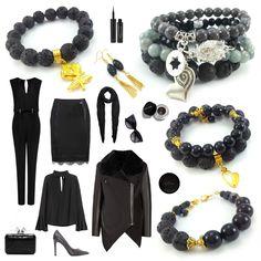Jak zestawić ubranie z biżuterią? Pantone 2017 i nie tylko. Pantone, Business Casual, Polyvore, Jewlery, Teacher, Diy, Ideas, Fashion, Moda