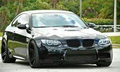 BMW E92 M3 black