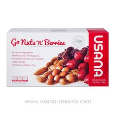 Usana Go Nuts 'n' Berries lip-smacking, super healthy Nutrition Bar these are so yummie :) even my hubbie loves them