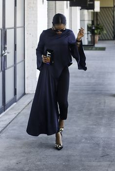 Get this look: http://lb.nu/look/8519705  More looks by Monica Awe-Etuk: http://lb.nu/awedbymonica  Items in this look:  Asymmetric Top, Embellished Shoes   #chic #classic #holiday #holidayoutfit