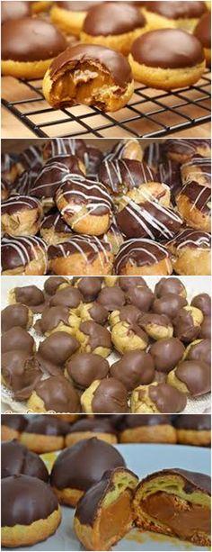 APRENDA A FAZER ESSA MARAVILHOSA CAROLINA, COM RECHEIO QUE PREFERIR!! VEJA QUI>>> Em uma panela, leve ao fogo médio a manteiga e a água até ferver e a manteiga derreter. Fora do fogo, #receita#bolo#torta#doce#sobremesa#aniversario#pudim#mousse#pave#Cheesecake#chocolate#confeitaria My Favorite Food, Favorite Recipes, Baking Recipes, Dessert Recipes, Food Wishes, Bread Cake, Portuguese Recipes, Food Hacks, I Foods