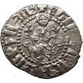 Levon I Cilician Kingdom of Armenian Silver Medieval Coin King Lions Cross