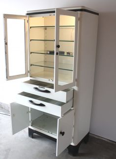 mid century office instrument cabinet u2013 manly vintage