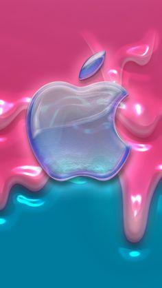 Dripping Pink & Blue Slime Background ♡ ʙᴀᴄᴋɢʀᴏᴜɴᴅ「背景