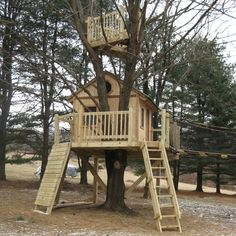 kids tree house build with kids