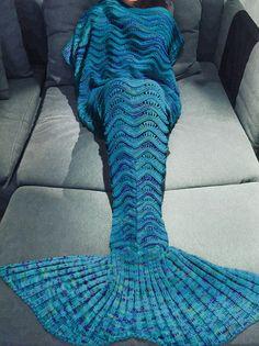 NEU: Knit Mermaid Tail Blanket Meerjungfrau by MERMAIDFOREVERR
