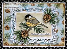 Craftilicious Creations: Artsystamper: Baby It's Cold Outside Distress Oxides, Distress Ink, Cloud Outline, Cloud Stencil, Its Cold Outside, Paper Background, Bird Feathers, Hello Everyone, My Images