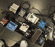 Pedal Board Breakdown - Tony Levin - Effects Bay Bass Pedals, Guitar Pedals, Guitar Rig, Bass Guitars, Tony Levin, Recording Studio Home, Bass Amps, Guitar Collection, Pedalboard