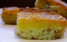 Griesmeel plaatkoek met sinaasappel