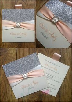 50 Hand Crafted Wedding Ideas for your invitations decorations photography Bridal Invitations, Luxury Wedding Invitations, Wedding Stationary, Wedding Invitation Cards, Wedding Cards, Custom Invitations, Invites, Pocket Invitation, Wedding Card Design