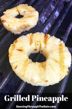 This grilled pineapple is the perfect addition to any barbecue! Easy to make and light on the budget, your guests will love something a little different! Fruit Recipes, Dessert Recipes, Cookbook Recipes, Summer Recipes, Frugal Meals, Easy Meals, Easy Desserts, Delicious Desserts, Vegetarian Recipes