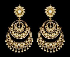 bali jhumka chaand perfect mehndi earrings