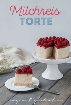 Milk rice cake with coconut vegan and gluten-free recipes ❤ Food rich - Torten - Chicken Recipes For One, Chicken Recipes Dairy Free, Baked Chicken Recipes, Free Recipes, Desserts Végétaliens, Baking Recipes, Vegan Recipes, Milk Recipes, Crockpot Recipes