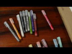 Artist Carne Griffiths demonstrates for beginners the features and versatility of the Derwent Graphik Line Painter Pens. Available in 20 vibrant colours. Vibrant Colors, Colours, Marker Art, Line, Markers, Make It Yourself, Creative Ideas, Magic, Youtube