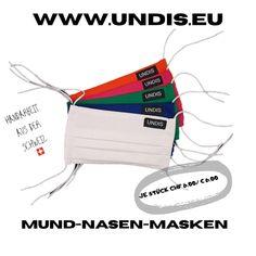 Bei UNDIS www.undis.eu gibt es jetzt auch MUND-NASEN-MASKEN im Partnerlook für Erwachsene und Kinder. Je Stück CHF 6,00 / € 6,00 (Versandkosten sind im Preis inkludiert) #undis #maskeauf #behelfsmaske #mundnasenmaske #mundmaske #gesichtsmaske #nähen #kreativ #bunt #maske #corona #virus #maske #mundnasenschutz #deutschland #schweiz #österreich #maske #kinder #eltern #diy #partnerlook #bunt #gesundheit #mundnasemaske Videos, Bags, Collection, Euro, Funny Underwear, Men's Boxer Briefs, Great Gifts, Masks, Handbags