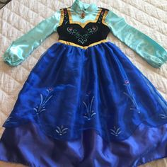 Check this item I am selling on Totspot, the resale shopping app for families.   Anna from Frozen Costume Size 4 Disney  Love this! #kidsfashion #familyfashion