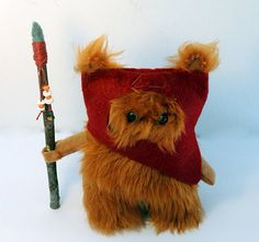 Star Wars Ewok Fur Doll is Small but Ferocious - it's just so cute!