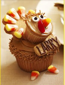 It's Written on the Wall: {Thanksgiving} Turkeys for Place Cards, Centerpieces and Dessert Plus....