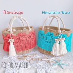 Lace Knitting, Knitting Patterns, Beaded Purses, Crochet Purses, Crochet Diy, Diy Tote Bag, Diy Handbag, Macrame Bag, Knitting Tutorials