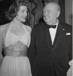 Winston's daughter, Sarah Churchill