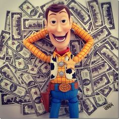 Toy Story | Woody no Instagram : Danger! Comics, Movies and More