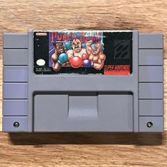 Super Punch-Out! video game for Super Nintendo SNES. All used cartridge games are fully cleaned, tested and working. Punch Out Game, Super Nintendo Games, Video Game, Products, Video Games, Beauty Products, Videogames