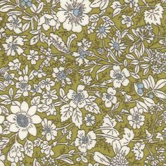This is such a strong olive green. Would be great for a shirt dress or skirt.
