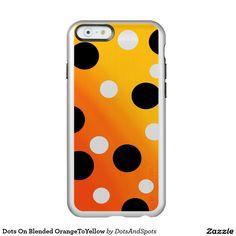 Dots On Blended OrangeToYellow Incipio Feather® Shine iPhone 6 Case