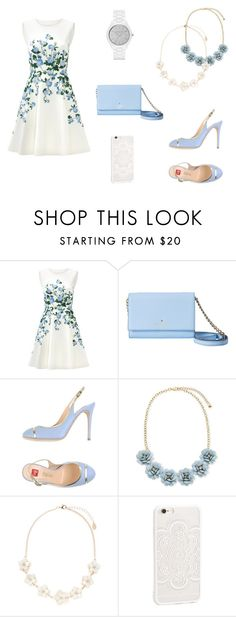 """""""14"""" by mivaldal on Polyvore featuring ERIN Erin Fetherston, Kate Spade, Ballin, Accessorize and Michael Kors"""