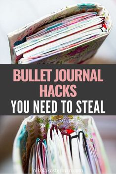 READ THIS before you do anything in your bullet journal! These are THE BEST bullet journal hacks. I am so glad that I found these INCREDIBLE bullet journal tips. I can't wait to use these bullet journal hacks in my own bullet journal spreads and layouts!